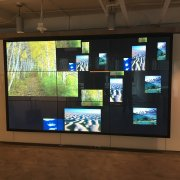 3W x 3H Interactive Touch Video Wall