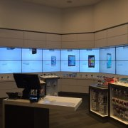 Verizon Interactive and Protective Video Wall with Projected Capacitive Touch 1
