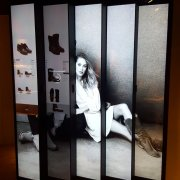 Frye Boots: 5W x 1H Projected Capacitive Touch Video Wall - LG 86BH5C Displays 1