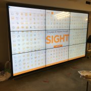 Avida 3W x 3H ShadowSense Touch Video Wall - NEC X555UNS Displays
